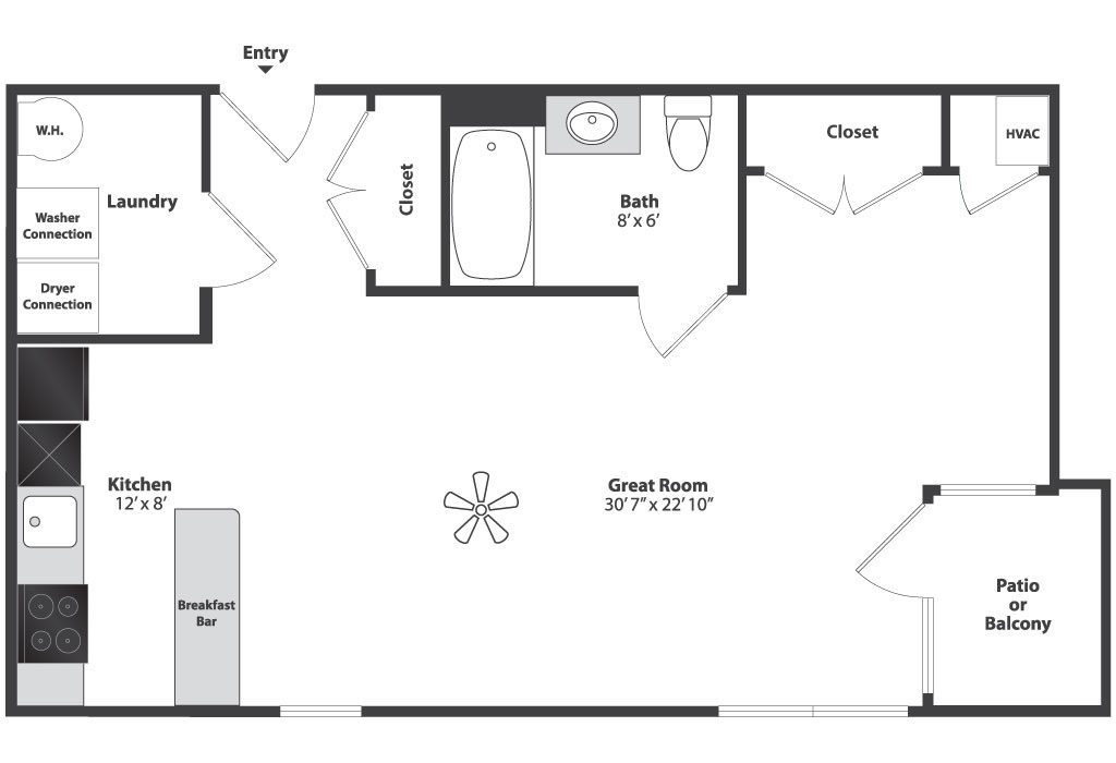 Studio Floor Plan Napcincinnati