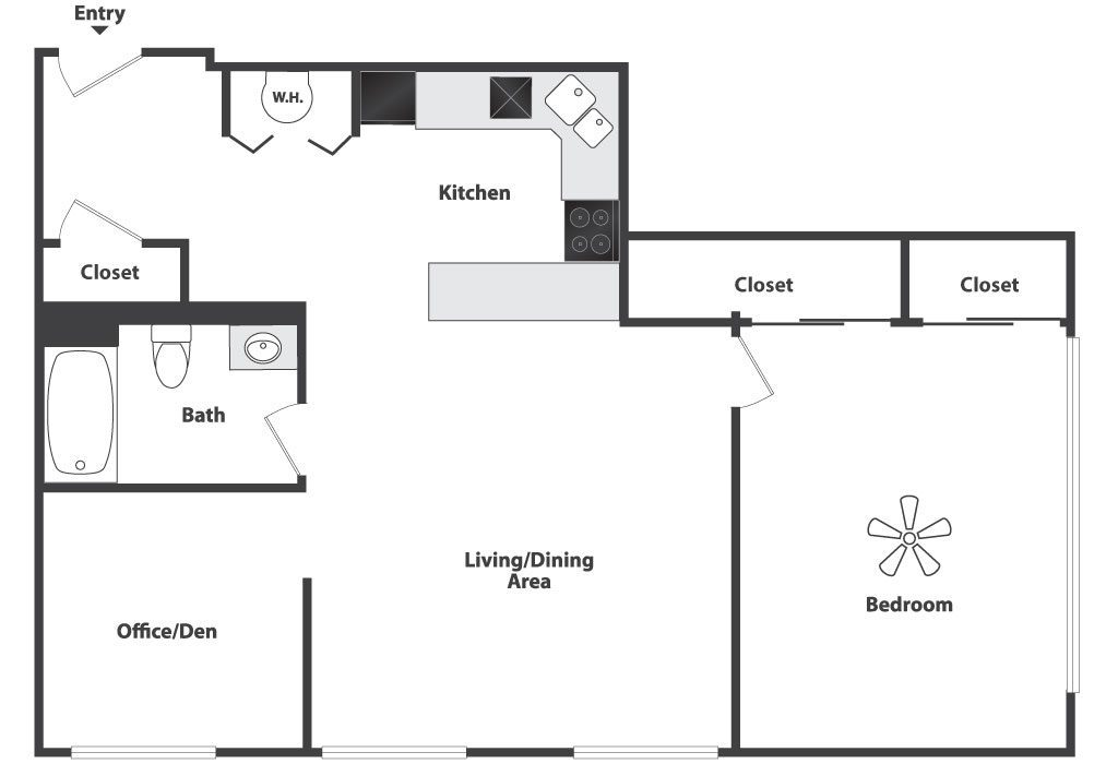 loft apartment floor plan the image kid