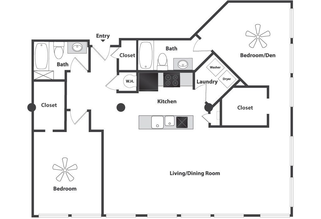 Floor Plans Amp Pricing Sycamore Place Lofts In Cincinnati Oh