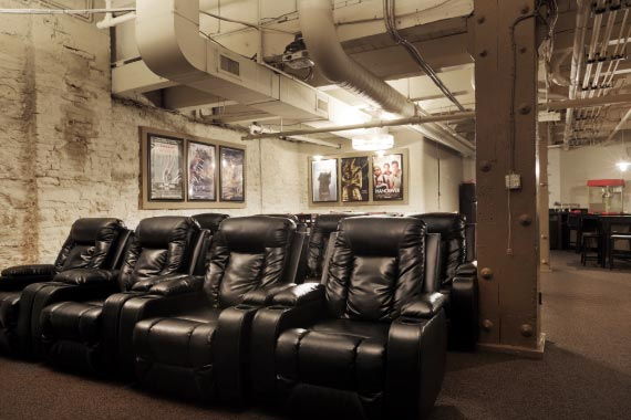 East 8 Lofts Amenity - Movie Theater