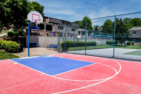 Gettysburg Square Amenity - Basketball Court