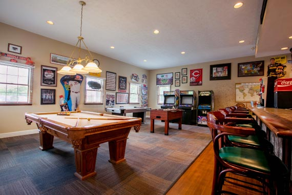 Olde Montgomery Amenity - Game Room