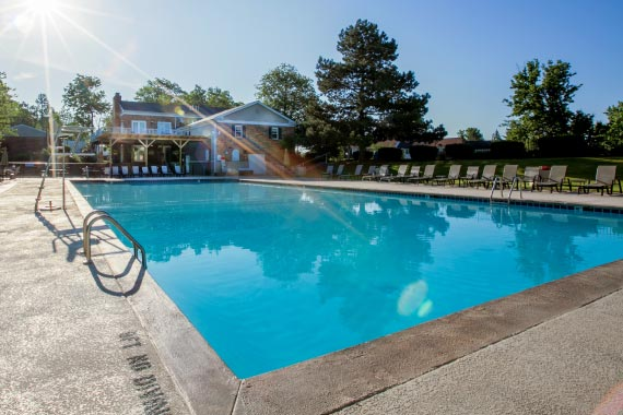 Olde Montgomery Amenity - Olympic-Size Swimming Pool