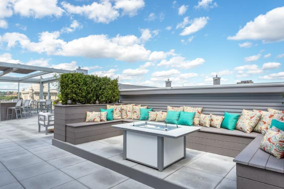 Seven at Broadway Amenity - Rooftop Terrace