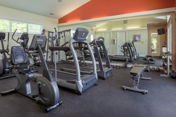 Seven at Broadway Amenity - 24-Hour Fitness Center