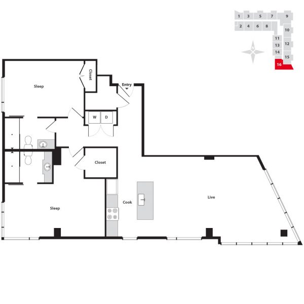 Seven At Broadway Floor Plans