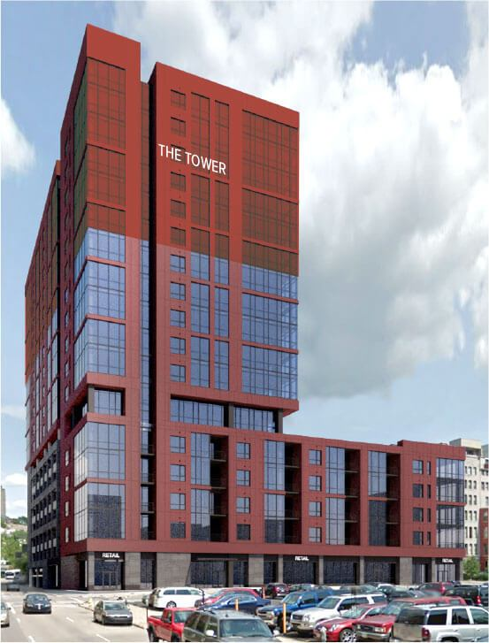 T5 Floor Plan 1 Bedroom Luxury Apartment Cincinnati Oh